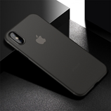 Black Matte Anti-Fingerprint Ultra Thin iPhone X Case